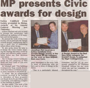 Civic Society Design Award